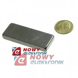 Magnes neodymowy 40x15x5 N42