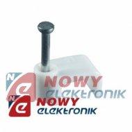 Uchwyt KLIP 10/5mm kabla przewodu