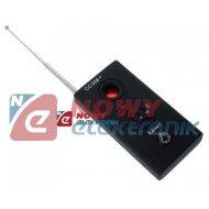 Wykrywacz podsłuchów i kamer CC CC308+(GSM GPS Wi-Fi Bluetooth) 1-6,5GHz