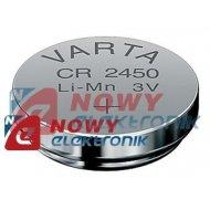 Bateria CR2450 Varta 3V