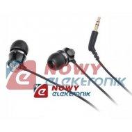 Słuchawki douszne K&M KMM01BK czarne Kruger&Matz wtyk:3,5mm