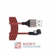 Kabel USB wt.A-mikroUSB 1m 180° max 2A DSF600 TALVICO