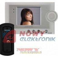 Videodomofon kolor MC-420C Abaxo zestaw:monitor,kamera