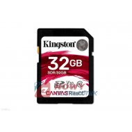 Karta pamięci SDHC 32GB U3 KINGS KINGSTON CANVAS REACT U3
