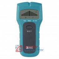 Detektor ind. M0501 z wyś.LCD (metal,drewno,nap)