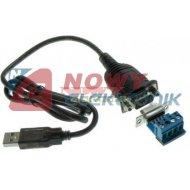 Przejście USB/RS485 + Adapter konwerter UNITEK Y-1081
