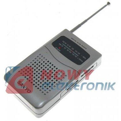 Odbiornik 6OS ORRP-59AGB 183MHz radio do podsłuchu, pluskwy