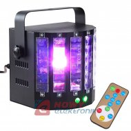 Efekt Półokręg LED + Laser Lampa dyskotekowa