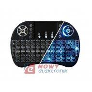 Smart TV klawiatura T2 podświet do Android Box MXQ, T95Z, H96 Pro+