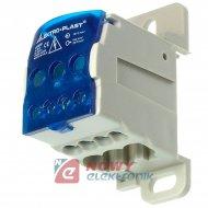 Blok Rozdzielczy UKK-80 Max16mm DIN TH elektryczny (listwa)