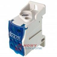 Blok Rozdzielczy UKK-120 DIN TH elektryczny (listwa)
