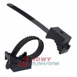 Opaska zaciskowa z uchw. UP22 UV (100szt)uchwyt paskowy UP-22 60mm