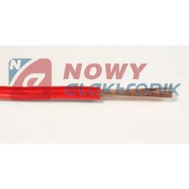 Przewód LGY 500V 0,35mm czerwon