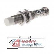 PCID-10ZPKM Czujnik ind.10-30VD 10mm.NO.PNP M12