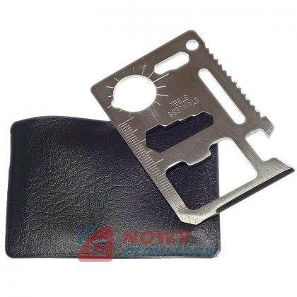 Karta przeżycia SURVIVAL CARD urządzenie wielofunkcyjne