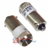 Dioda LED BA9S 60V AC/DC biała