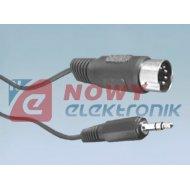 Kabel DIN-Jack 3,5 1-1,2m