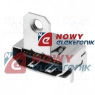 Gniazdo HDMI montażowe smd HD2 (SMT)z uchwytem