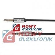 Kabel Jack 3,5st wt.-wt.1,5m K&M sprężynka