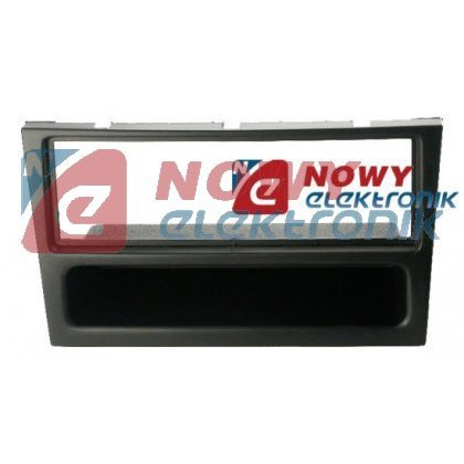 Ramka radiowa Opel 1DIN charcoal/rubber-touch
