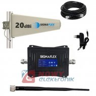 Wzmacniacz LTE zestaw do 350m  (ant.bat+zewn./wzmacniacz)