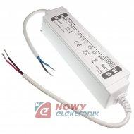 Zasilacz ZI LED 12V/5A IP67 12V 60W LPE6012CV