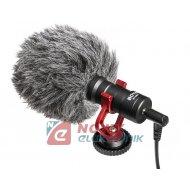 """Mikrofon pojemnościowy BY-MM1 """"BOYA AUDIO"""" do aparatów, smartfonów"""