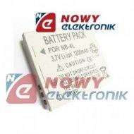Akumulator do aparatu NB-4L 3.7V  950mAh Li-ION(Zam.dla CANON)