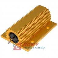 AX100WR 3R3 drutowy+radiator rezystor drutowy z radiatorem przykręcan