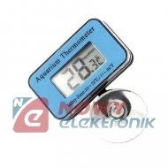 Termometr cyfrowy wodoodporny zakres -5070°C do akwarium