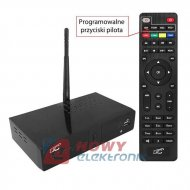 Tuner TV naz. LTC HDT03 DVB-T-2 Wi-Fi z pilotem programowalnym