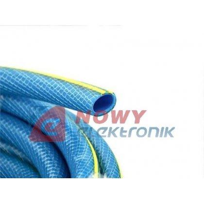 """Wąż ogrodowy BLUE wzmacn.1/2""""30m Profesjonal PLUS"""