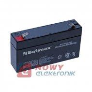 Akumulator 6V 3.2Ah 125X33X60(66)mm
