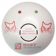 Odstraszacz zwierząt 230V NE320 myszy, szczury, gryzonie, kuny, owady