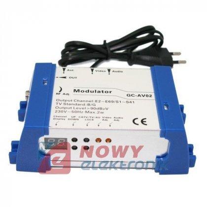 Modulator TV SAT GC-AV02 RCA