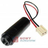 Moduł Laserowy HL-DP-M12-655-3 DC 2,5V-4V 655nm 4,5mW punktowy czerwony