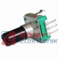 Impulsator - EC12 l-14mm pion z przyc. 24imp. Enkoder