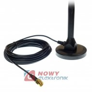 Antena GSM/3G/4G/HSDPA do HUAWEI LTE 15dBi 74cm wtyk SMA kabel 8m, OMNI