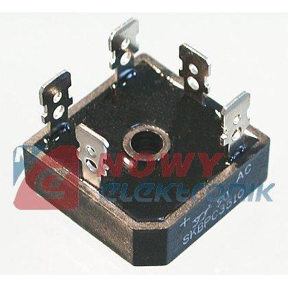 Mostek 3-faz.35A 1000V SKBPC3510 trójfazowy