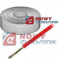 Przewód silikonowy 1,50mm2 czerw czerwony 500V HELUKABEL linka