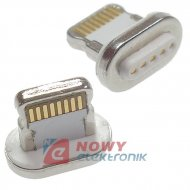 Wtyk LIGHTING do kabla magnety. USB (do iphone)