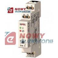 Regulator temperatury RTM-01 DIN 5-40°C bez sondy/230VAC termostat ZAMEL
