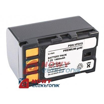 Akumulator do kamer BN-V815 BN-VF815 823 JVC  7,2V 1460mAh