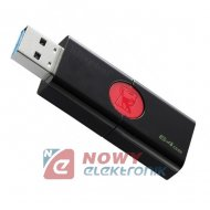 Pamięć PENDRIVE 64GB 106KINGSTON USB 3.0 DataTraveler