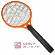 Łapka elektryczna na owady MK owadobójcza komary muchy paletka