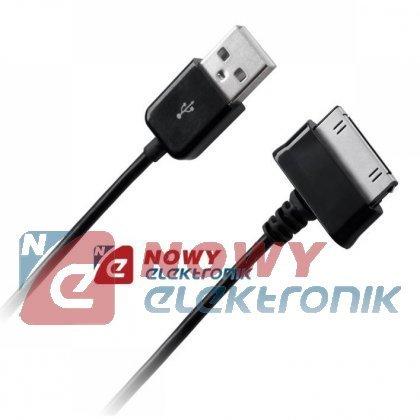 Kabel USB - Samsung Galaxy TAB czarny do tabletu