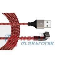 Kabel USB -Lightning 1,5m 180° 2A DSKU600 Talvico Apple Iphone