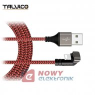 Kabel USB -Lightning 1,0m 180° 2A DSKU600 Talvico Apple Iphone