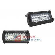 Lampa LED halogen 40x3W 12-24VPR IP67 PANEL OFF ROAD COMBO