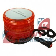 Lampa ostrzegawcza pomarańcz.15W 10-30V 72LED samoch. z magnesem
